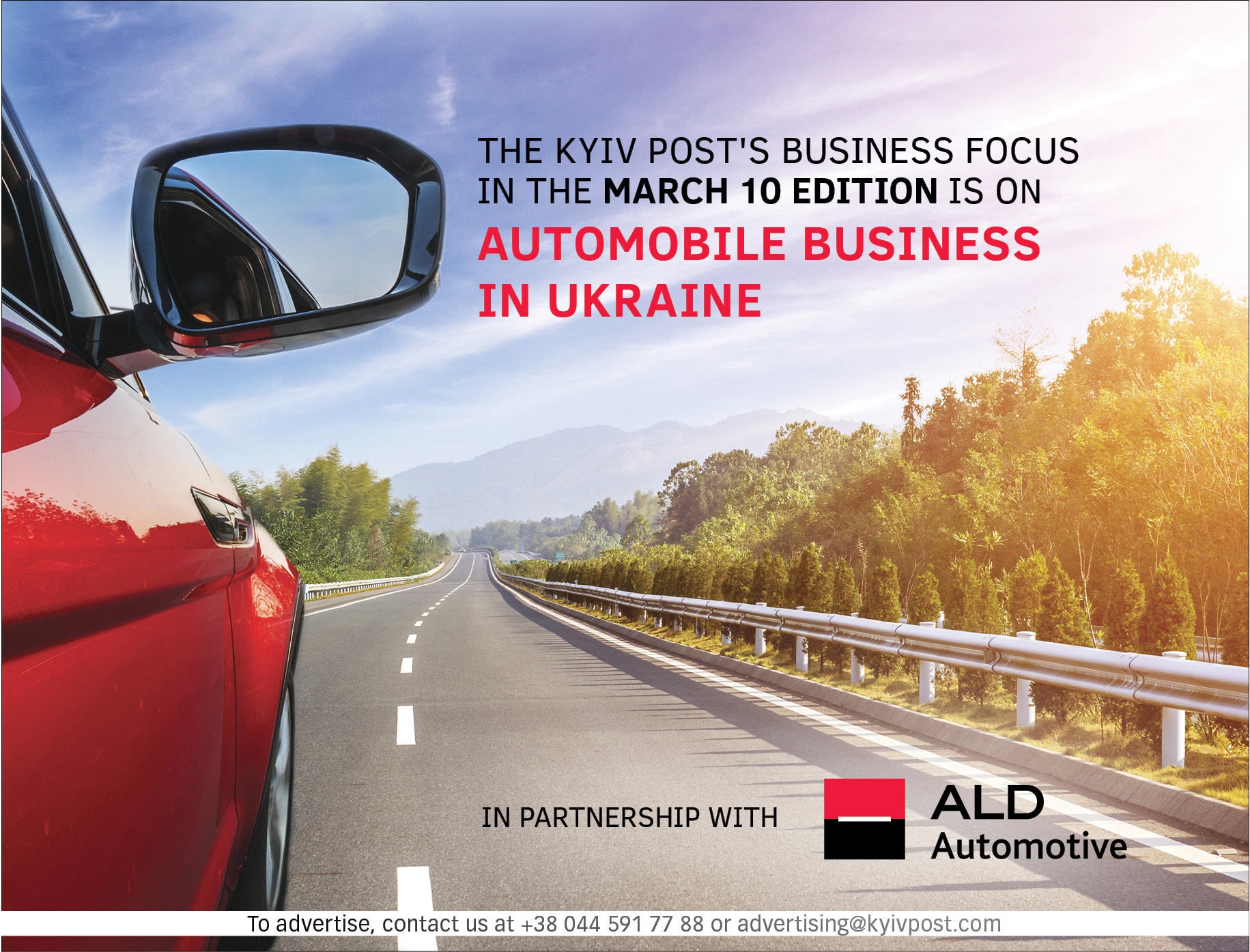 ALD Automotive moving Ukraine's corporate car leasing market towards outsourcing and modernity